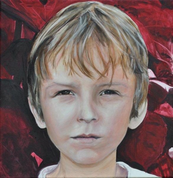 Roter Max, Gemälde